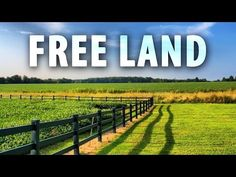 How to Get Free Land in the USA: 12 Steps (with Pictures)