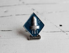 Naca space program pin Russia space USSR space Spaceship Rocketship vintage enamel pins Antique pins