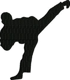 Karate martial art 空手/唐手 embroidery file by FRenee2 on Etsy, $3.00
