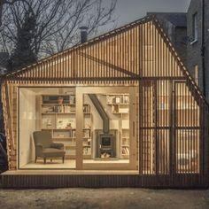 Writer's Shed by Weston Surman & Deane  http://yadokari.net/minimal-life/14946/
