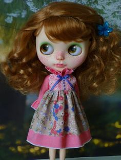 Reflection Dress for Blythe by PamsPrettyDesigns on Etsy