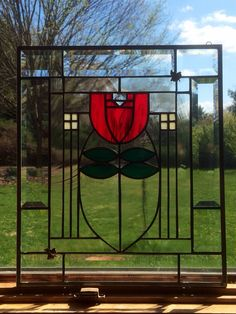 Hey, I found this really awesome Etsy listing at https://www.etsy.com/listing/187315766/dard-tulip-craftsmen-style-beveled