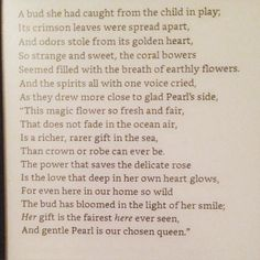 The Water Spirits by Louisa May Alcott #onepoemaday #LMABibliography