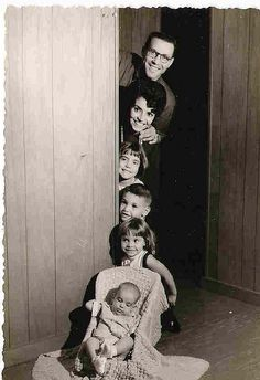 cute vintage family shot, via Flickr