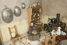 Miss Miles' House (Dolls' house) | V&A Search the Collections