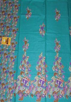 Kain Batik Cibulan 213-Toska