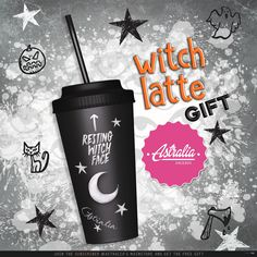 Witch Latte September 2017 Subscriber Gift by Astralia | Teleport Hub - Second Life Freebies