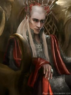 """""""Audience with the King - Thranduil Only"""" by duyeqing."""