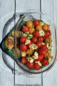 Feta, Side Dishes, Vegetarian Recipes, Food And Drink, Vegetables, Drinks, Healthy, Summer, Drinking