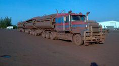 Down Under AU, N Mack Trucks, Semi Trucks, Big Trucks, Train Truck, Road Train, Clean Metal, Western Star Trucks, Truck Transport, Transportation