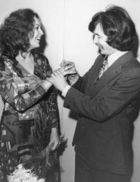 Татьяна и Вячеслав Малежик. 1977