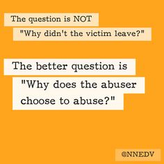 #HowIHelped I asked the better question. #WhyIStayed #WhyILeft #endDV