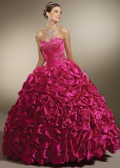 Home >Luxury Quinceanera Dresses > Hot Pink Luxury Quinceanera Dresses 87086    quinceanera-gown-dresses.com