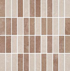 Portobello - Linha: Atelier - Parede - Mosaico - imagem MOS BEGE MIX SL 30X30 POL - Código de Referência: 97224ET