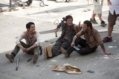 The Walking Dead/ Steven Yeun, Norman Reedus & Andrew Lincoln