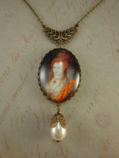 """Elizabeth"" necklace by Ophelia's Adornments"