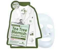 Dewytree Tea Tree Blemish Solution Face Skin Care Mask Pack Sheet 27gx10 PCS #Dewytree #333korea #skincare #beauty #koreacosmetics #cosmetics #oppacosmetics #cosmetic #koreancosmetics #masksheet #maskpack #facemask #facialmask