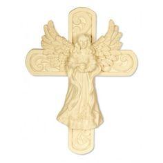Beautiful angel on a cross