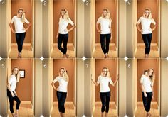 flattering poses for a female: