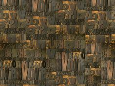 MOTIF WRITING WALLPAPER TYPOLOGY LIFE! 10 COLLECTION BY WALL&DECÒ | DESIGN CHRISTIAN BENINI