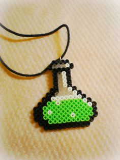 A present from my boyfriend. Made with Hama Beads.