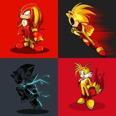 Sonic #FlashMash set - Glad you guys liked them ⚡⚡⚡