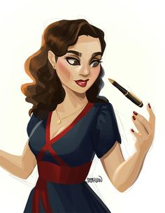 Agent Peggy Carter is Dressed to Kill!