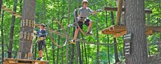 Catamount Ariel Adventure Park- about 20 minutes from Interlaken Inn for ages 7-70!