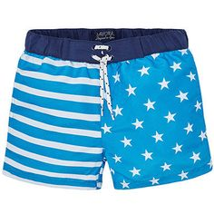 Mayoral Star Swim shorts in Pacific