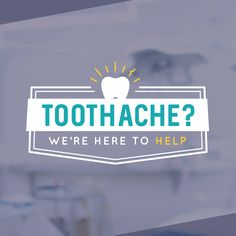 IF YOU HAVE a tooth that's bothering you, come and see us! We're always happy help you. #parkridgedentist