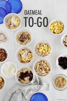 Oatmeal To-Go | The Chic Site