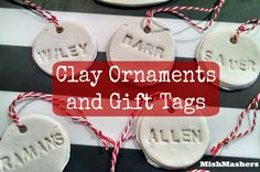 MishMashers: Personalized Ornaments or Gift Tags