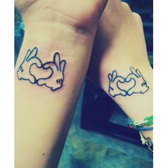 Best friend tattoos #mickeymouse #disney #bestfriends #tattoos #mickey