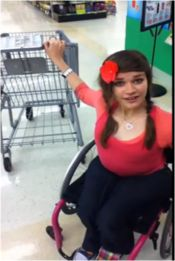 How To: Shopping in a Wheelchair (3 videos). This is great!