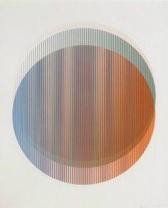 Monoprint by Peter Schmidt Op Art, Pattern Texture, Design Movements, Art Graphique, Circle Design, Grafik Design, Portfolio Design, Textures Patterns, Geometric Shapes