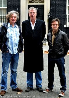 Top Gear ~ UK ~ James May, Jeremy Clarkson, and Richard Hammond. Top Gear Funny, Top Gear Bbc, Clarkson Hammond May, James May, Jeremy Clarkson, Grand Tour, Best Tv, Favorite Tv Shows, Movies And Tv Shows