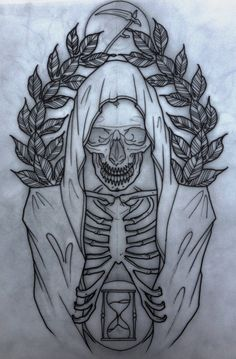 grim reaper flash | grim reaper tattoo                              …