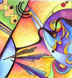 Kandinsky Inspired 1 by Artwyrd.deviantart.com on @deviantART