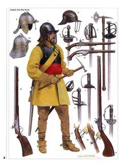 English civil war cavalry