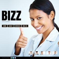 Financial Advisor  Website Theme