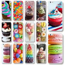 Phone Cases for Apple iPhone 6Plus 5.5'' Ice Cream Painted Back Hard Plastic Phone Skin Cover for iPhone 6s Plus Wholesale(China (Mainland))