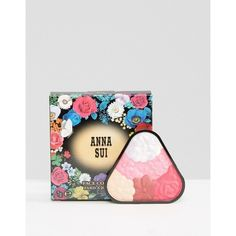 Anna Sui Limited Edition Face Color - Rose Blush & Highlight ($24) ❤ liked on Polyvore featuring beauty products, makeup, cheek makeup, blush, pink, anna sui blush, highlight blush and anna sui