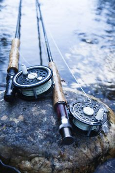fly rods/ Fliegenrute