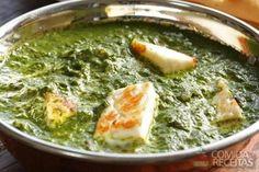 Receita de Palak paneer em receitas de legumes e verduras, veja essa e outras receitas aqui!