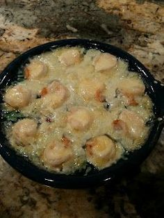 Shrimp Cargot just like Charlestons! I've made this twice now, and it is exactly like theirs.... :))))))
