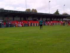 Our recent trip to Faraday Road, the home of Newbury FC. http://www.bracknelltownfc.com/featured-post/newbury-fc-0-bracknell-town-3/ Photo Tony Hardy
