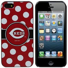 When I get an Iphone 5, which may be soon...I'm getting this case!! So cute! Cincinnati Reds iPhone 5 Case