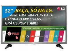 "Smart TV LED 32"" LG 32LH570B Conversor Digital - Wi-Fi 2 HDMI 1 USB"