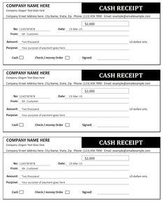 free printable cash receipt form pdf from vertex42 com home care