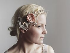 Boho Bridal Headpiece - Miss Darling 2 Stück Blush Bridal Headpiece - Woodland Hochzeit von gadegaarddesign auf Etsy https://www.etsy.com/de/listing/129880532/boho-bridal-headpiece-miss-darling-2